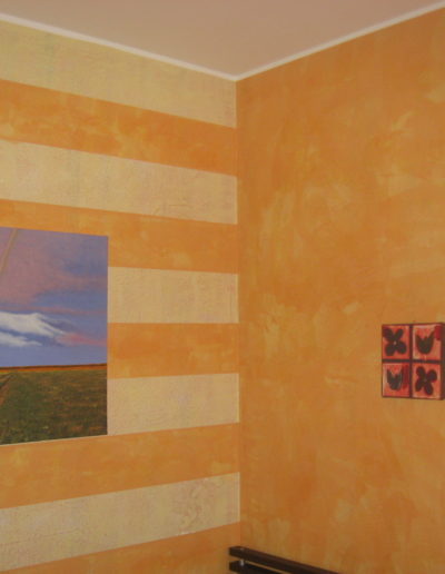 decorazione ad encausto con stucco sintetico 2